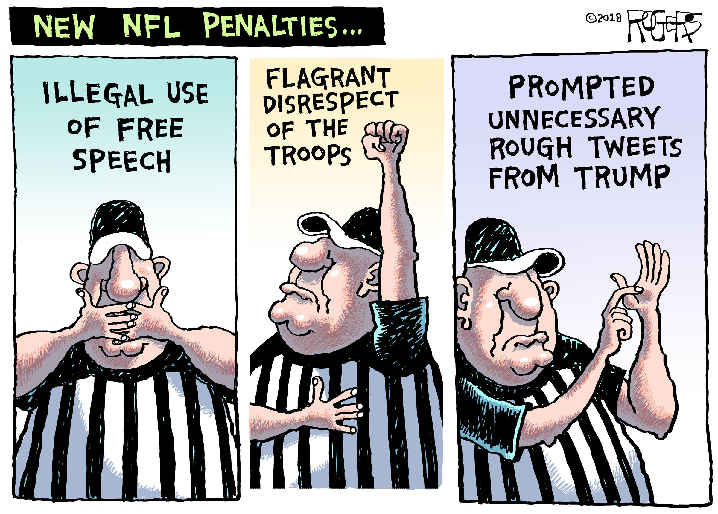 by Rob Rogers
