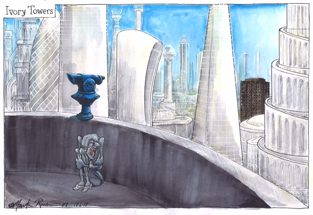 by Martin Rowson